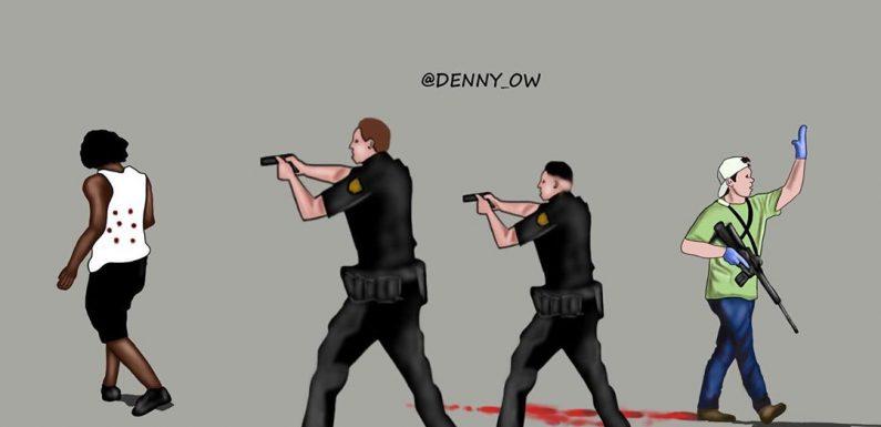 Usa, i due video di Kenosha che raccontano la violenza razzista della polizia e due sistemi di giustizia differenti