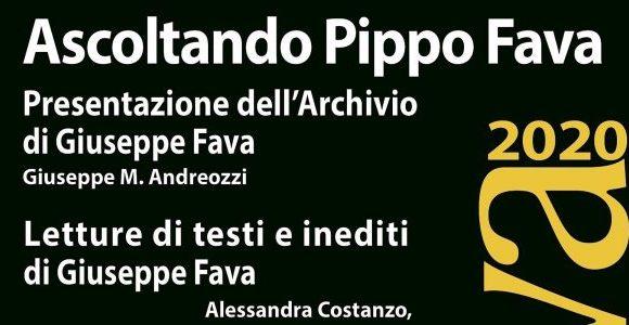 Ascoltando Pippo Fava