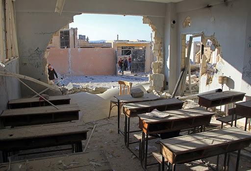 Garantire il diritto all'educazione nei Paesi in guerra!