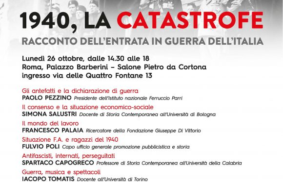 """1940, LA CATASTROFE"""