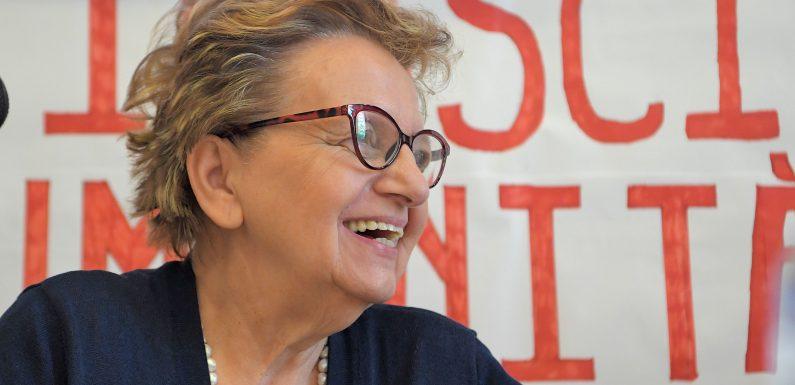 Carla Nespolo, tra i Buoni e Giusti della PerugiAssisi