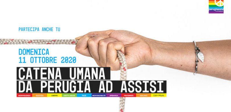 Oggi Catena Umana per la pace e la fraternità