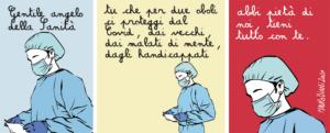 Taglio alto/lettera ad un angelo della Sanità