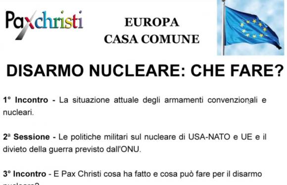 Coordinamento Nord – Europa Casa Comune – Disarmo – Disarmo nucleare: che fare?