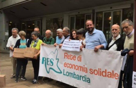 L'appello a Regione Lombardia per approvare la legge sull'economia sociale e solidale