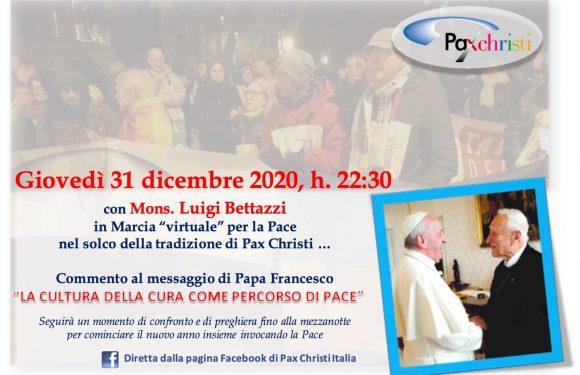 31 dicembre – Marcia virtuale per la Pace con Mons Bettazzi