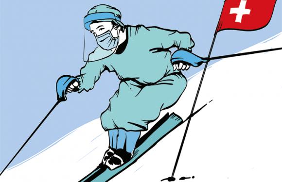 A sciare in Svizzera