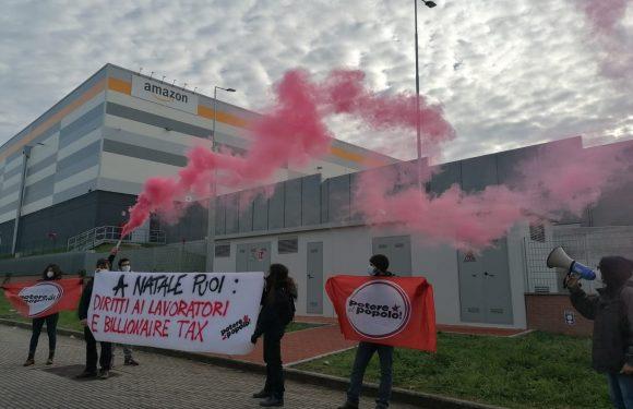Ai magazzini Amazon di Lunghezza (Roma): diritti dei lavoratori e billionaire tax