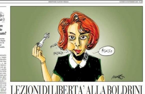 Dei manzoniani «venticinque lettori» de «Il Foglio», Laura Boldrini, il merito, il mercato, il finanziamento pubblico