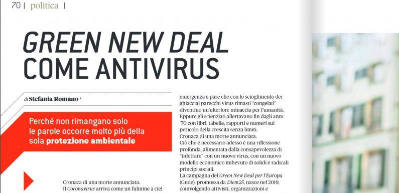 Il Green New Deal come antivirus