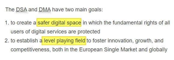 L'Europa presenta le nuove regole per il digitale
