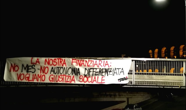 [Roma] La nostra finanziaria: no mes, no autonomia differenziata. Vogliamo giustizia sociale