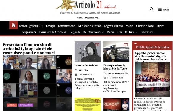 Articolo21: due decenni per la libertà d'informazione!