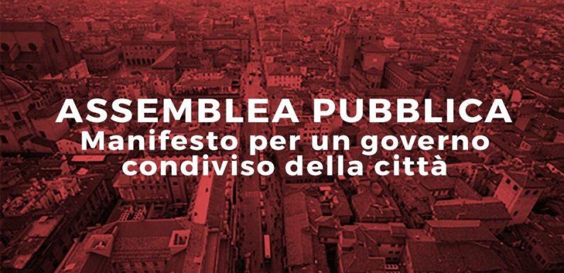 """Assemblea Pubblica """"Manifesto per un governo condiviso della Città"""""""