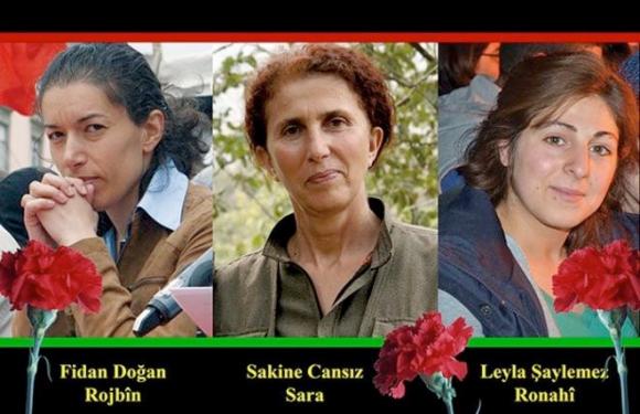 GIUSTIZIA PER SAKINE, ROJBIN E LEYLA, ATTIVISTE CURDE UCCISE A PARIGI IL 9 GENNAIO 2013