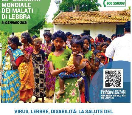 Le iniziative di Aifo per la Giornata mondiale dei malati di lebbra