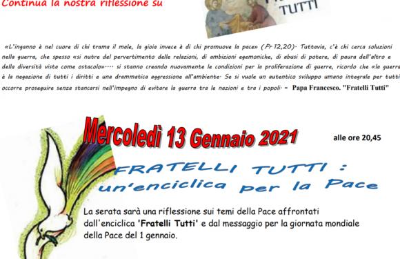 Pax Christi Bologna – Fratelli tutti: un enciclica per la pace
