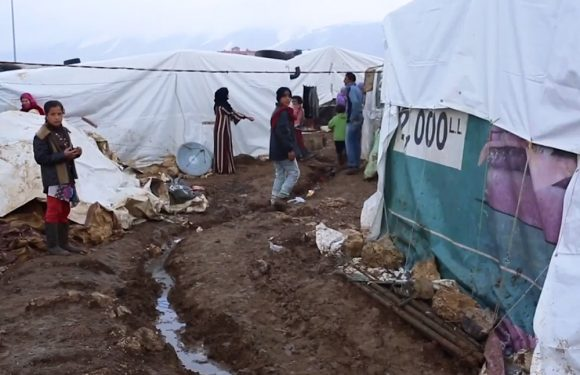 Emergenza freddo in Libano
