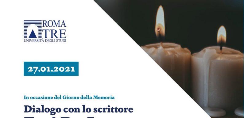 Giorno della Memoria: ecco la registrazione del dialogo con Erri De Luca