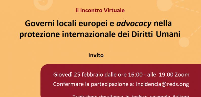 Governi locali europei e protezione dei diritti umani