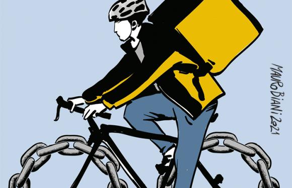 La catena della bici