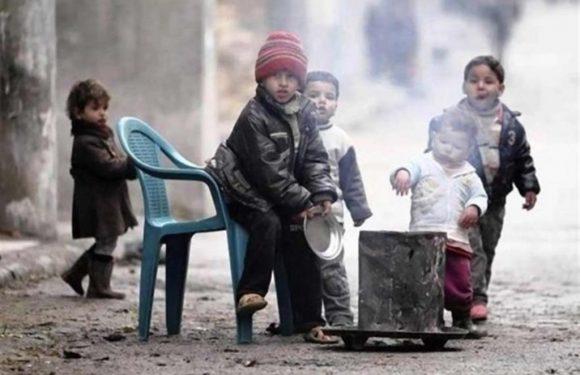 La guerra e la fame dei bambini