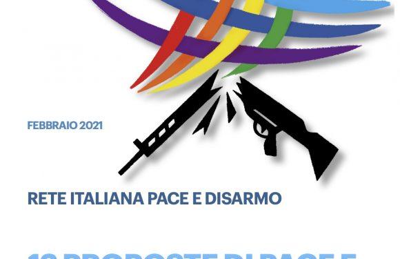 Le politiche di Pace e Disarmo siano al centro del Piano Nazionale di Ripresa e Resilienza
