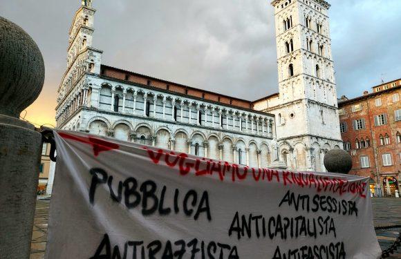 LUCCA: CONTRO LA SVENDITA DELL'EX MANIFATTURA!