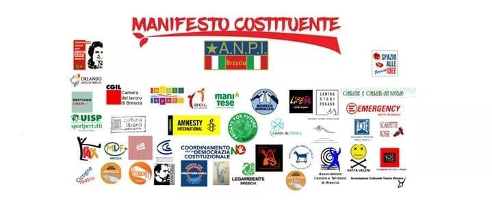 """Nasce a Brescia il """"Manifesto costituente"""". Pagliarulo: """"Un laboratorio del cambiamento"""""""