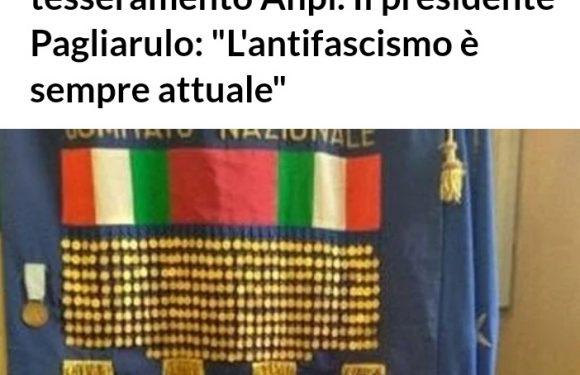 """""""Partigiani, al via la due giorni di tesseramento ANPI. Il Presidente Pagliarulo: l'antifascismo è sempre attuale"""""""
