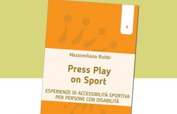 Press Play on Sport: il nuovo libro della collana accaParlante racconta lo sport accessibile a tutti