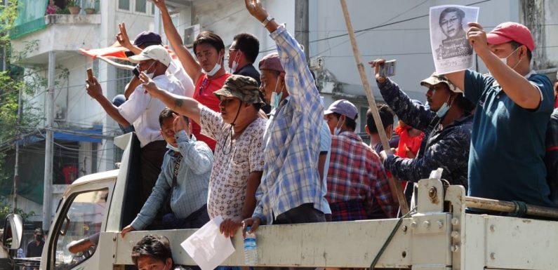 Sparate a vista: la minaccia dei golpisti birmani