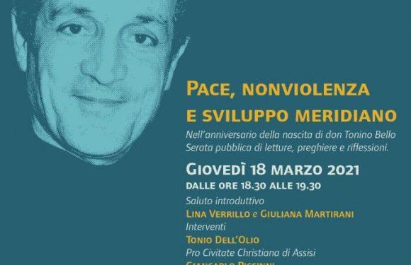 18 Marzo – Pace, Nonviolenza e Sviluppo Meridiano