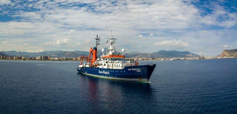 Il TAR di Palermo sospende il fermo delle navi di Sea-Watch