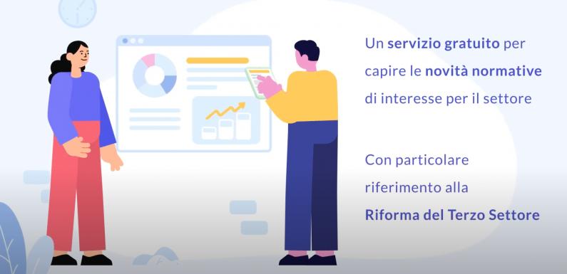 Il video del progetto Assieme in Emilia Romagna per le associazioni di promozione sociale