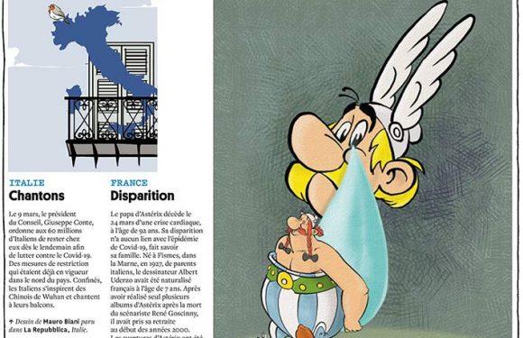 L'Italia al balcone, su Courrier International