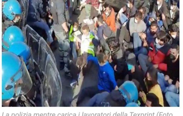 [Lucca] Presidio sostegno dei lavoratori e delle lavoratrici texprint di Prato