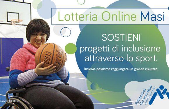 """Ritorna la """"Lotteria solidale"""" della Polisportiva Masi, per sostenere l'inclusione delle persone con disabilità nello sport"""