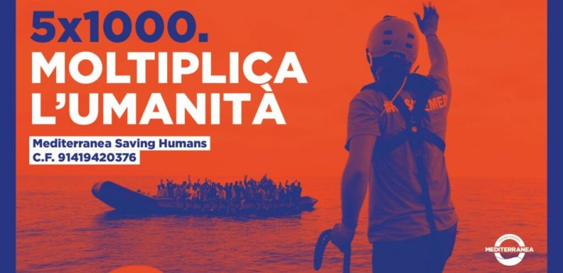 5×1000 per Mediterranea Saving Humans