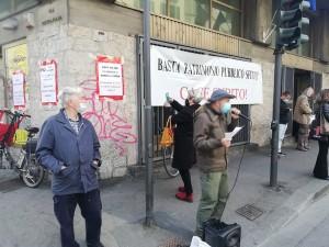Campagna Basta case sfitte, Firenze: palazzo delle poste, patrimonio pubblico dismesso e sfitto. Rete antisfratto