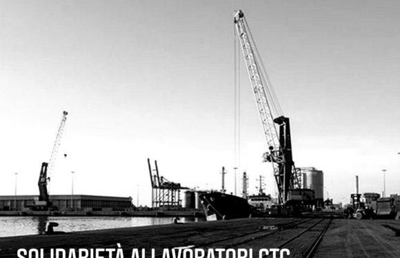Civitavecchia: solidarietà ai lavoratori GTC