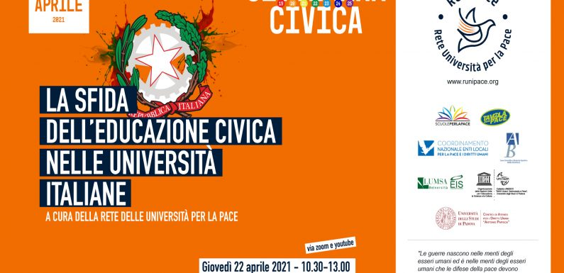 La sfida dell'educazione civica nelle università italiane