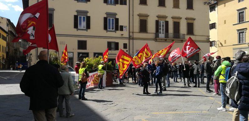 Nuovo presidio dei lavoratori dell'handling aeroportuale sotto la Regione Toscana. La regione attivi un tavolo di crisi!