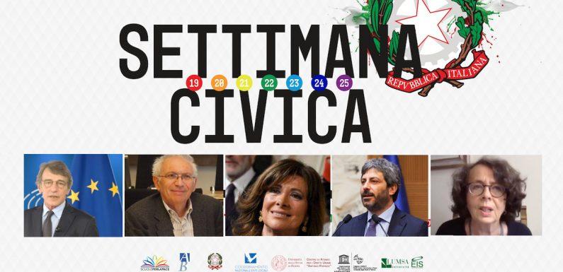 Settimana Civica: i messaggi arrivati