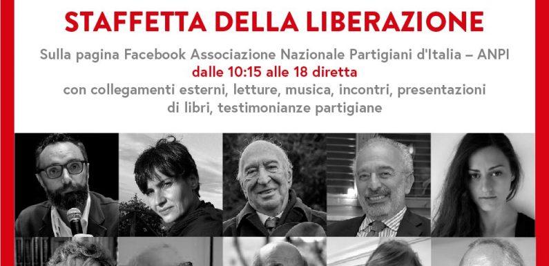 """""""Staffetta della Liberazione"""": la diretta social ANPI del 25 aprile"""