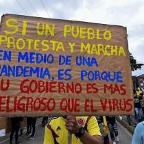 Colombia: il governo è più pericoloso del virus