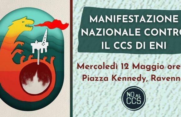 Contro ENI e CCS: manifestazione nazionale a Ravenna per una reale transizione ecologica!