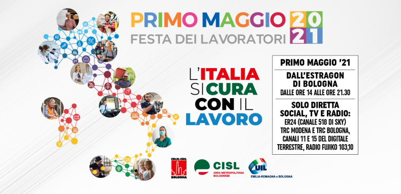 """""""L'Italia si cura con il lavoro"""": il concerto del 1 Maggio a Bologna"""