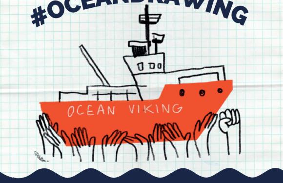 #OceanDrawing – disegna la solidarietà