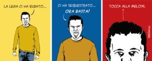 Taglio alto/Basta con Salvini!